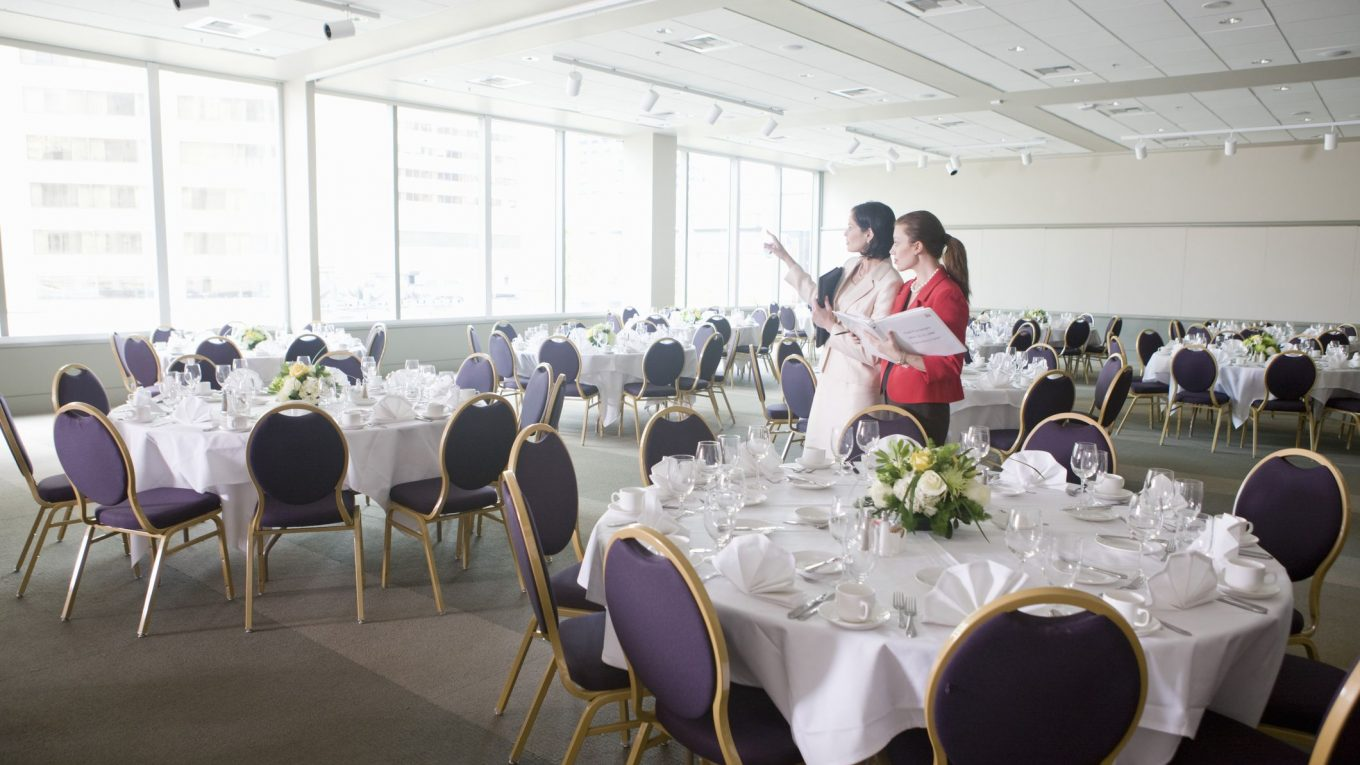 The skills and abilities of an event planner