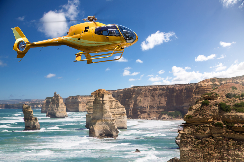 Best Places for a Helicopter Tourv